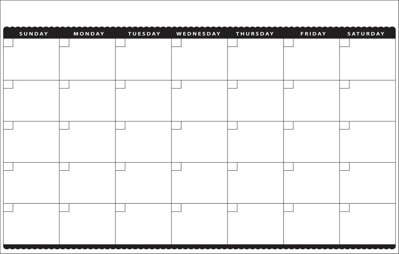 11×17 Calendar Template Word – Printable Year Calendar