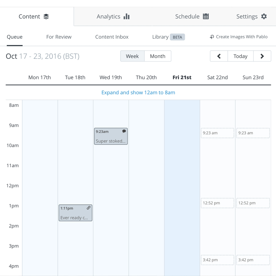12 Of The Best Social Media Calendars - Our Social Times