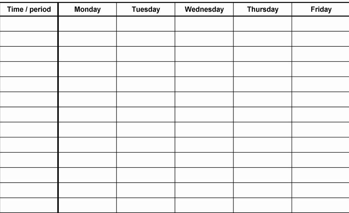 12 Week Blank Calenda Printable (With Images) | Calendar
