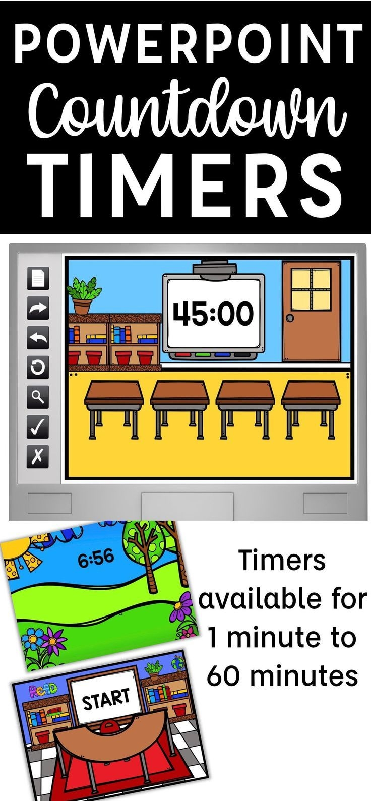 15 Minute Timer For Classroom
