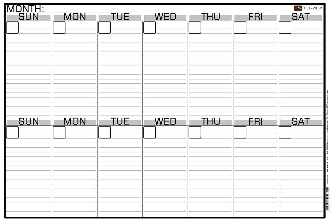 2 Week Calendar Printable Online Templates Fine Template