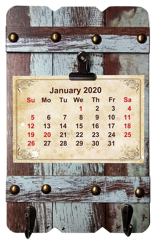 2019-2020 16 Months Wall Calendar + Fashion Frame Board