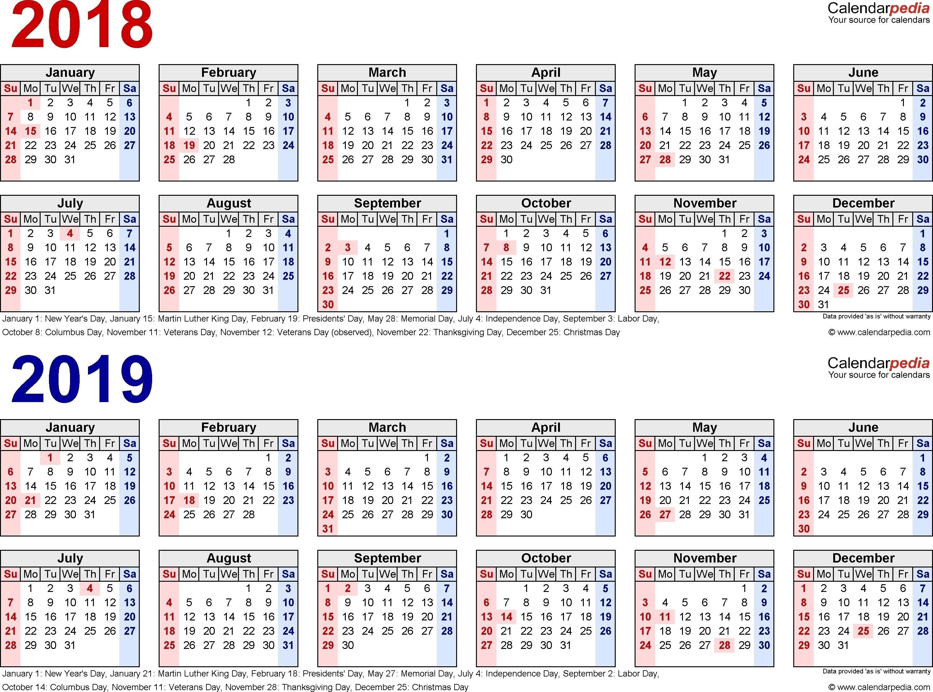 2019 Biweekly Payroll Calendar Template | Payroll Calendar