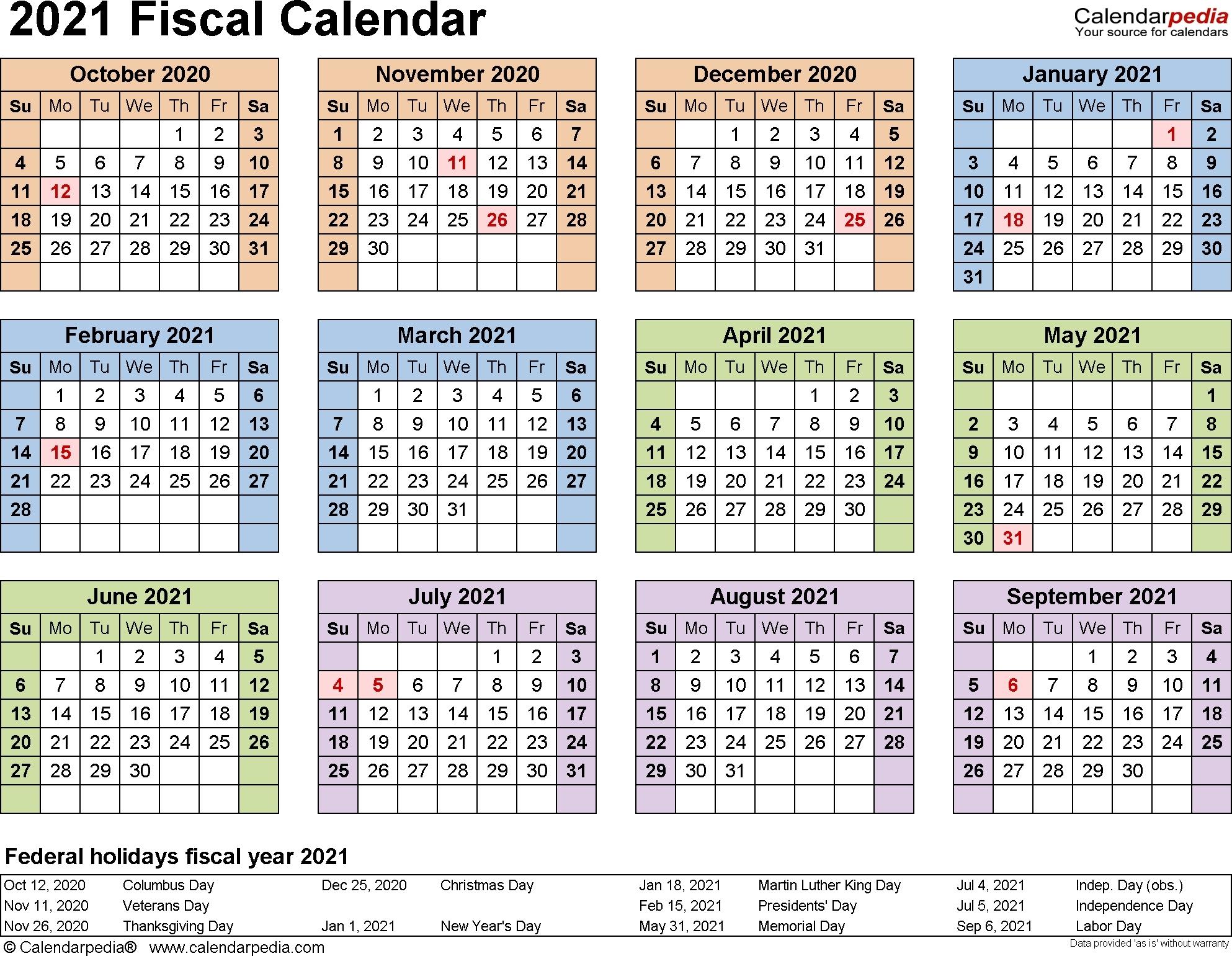 2019 Fiscal Calendar 4 4 5 - Calendar Inspiration Design