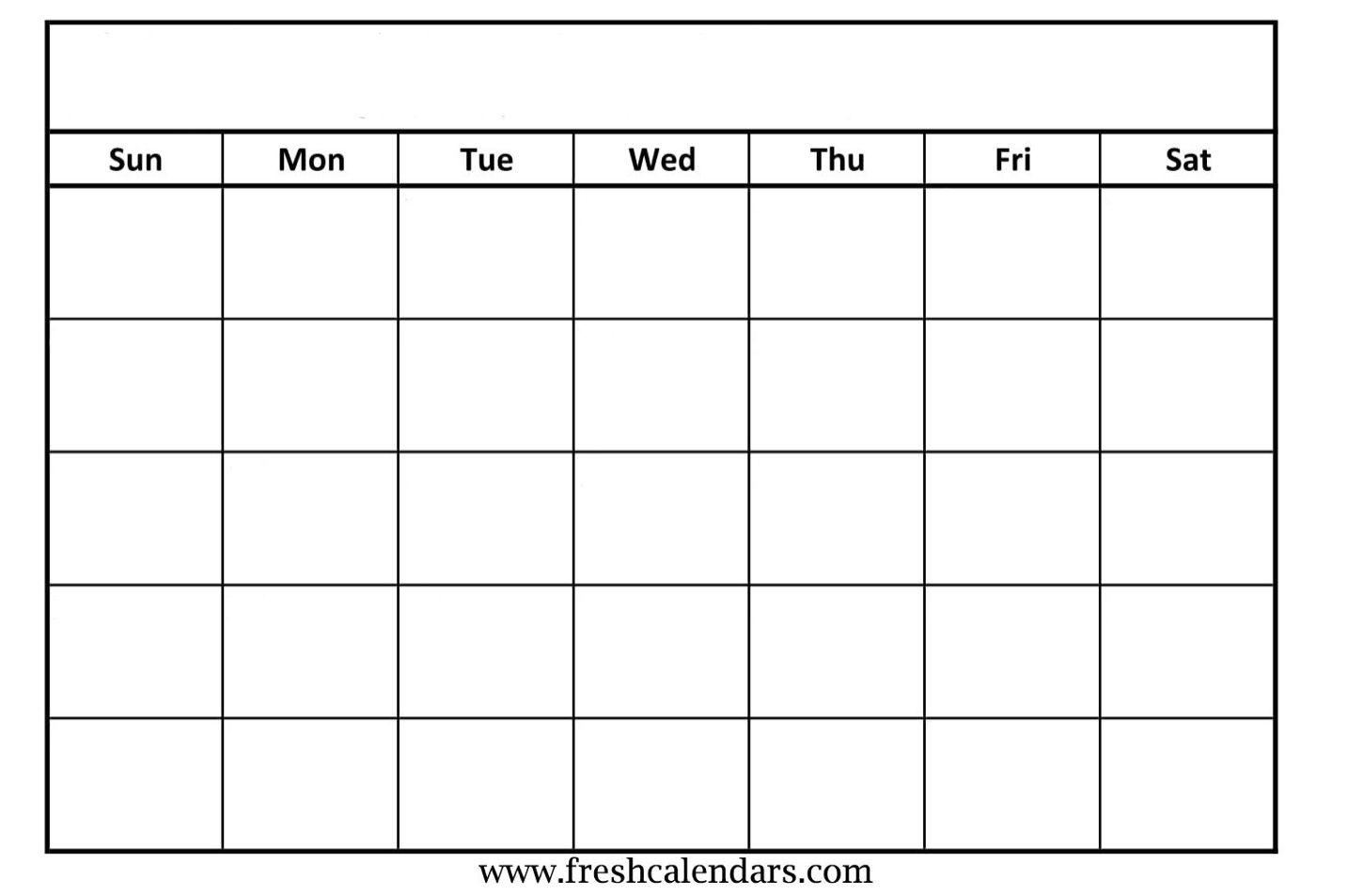2019 Free Printable Calendar Templates - A Mother's Random