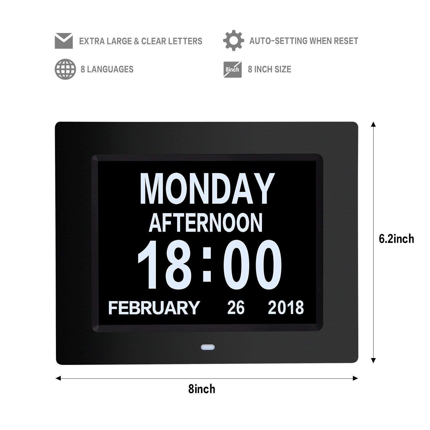 2019 Trend Gift Sets Large Lcd Calendar Clock 365 Day Clock Movement  Digital Countdown Clock - Buy Digital Day Countdown Clock,digital Calendar  Day