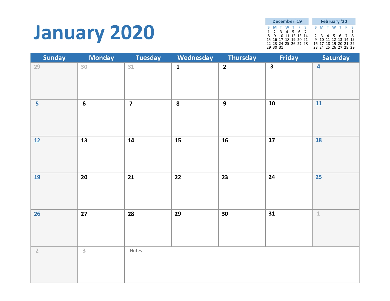 2020 And 2021 Calendar Excel