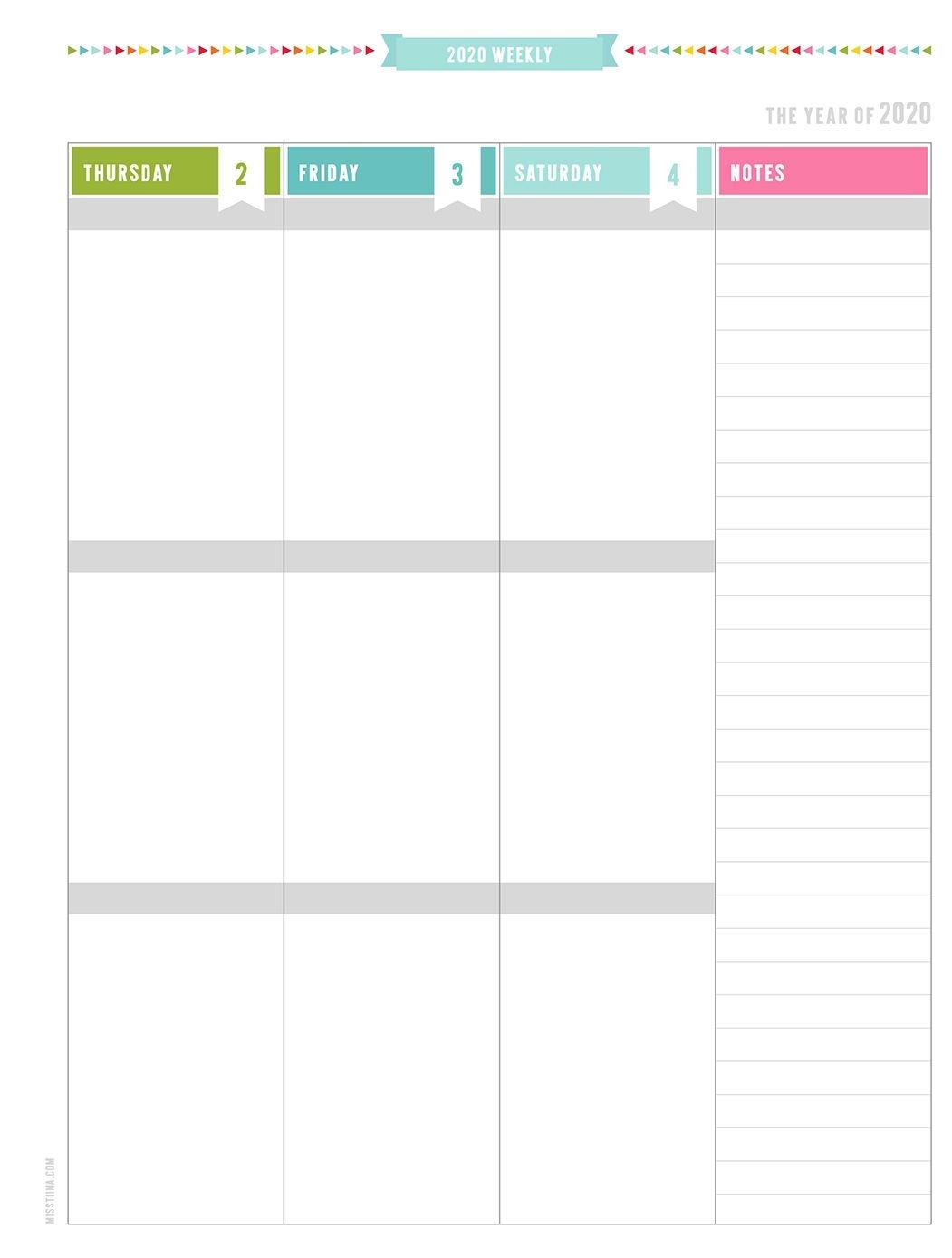 2020 Everyday Planner – Update By Miss Tiina | Misstiina