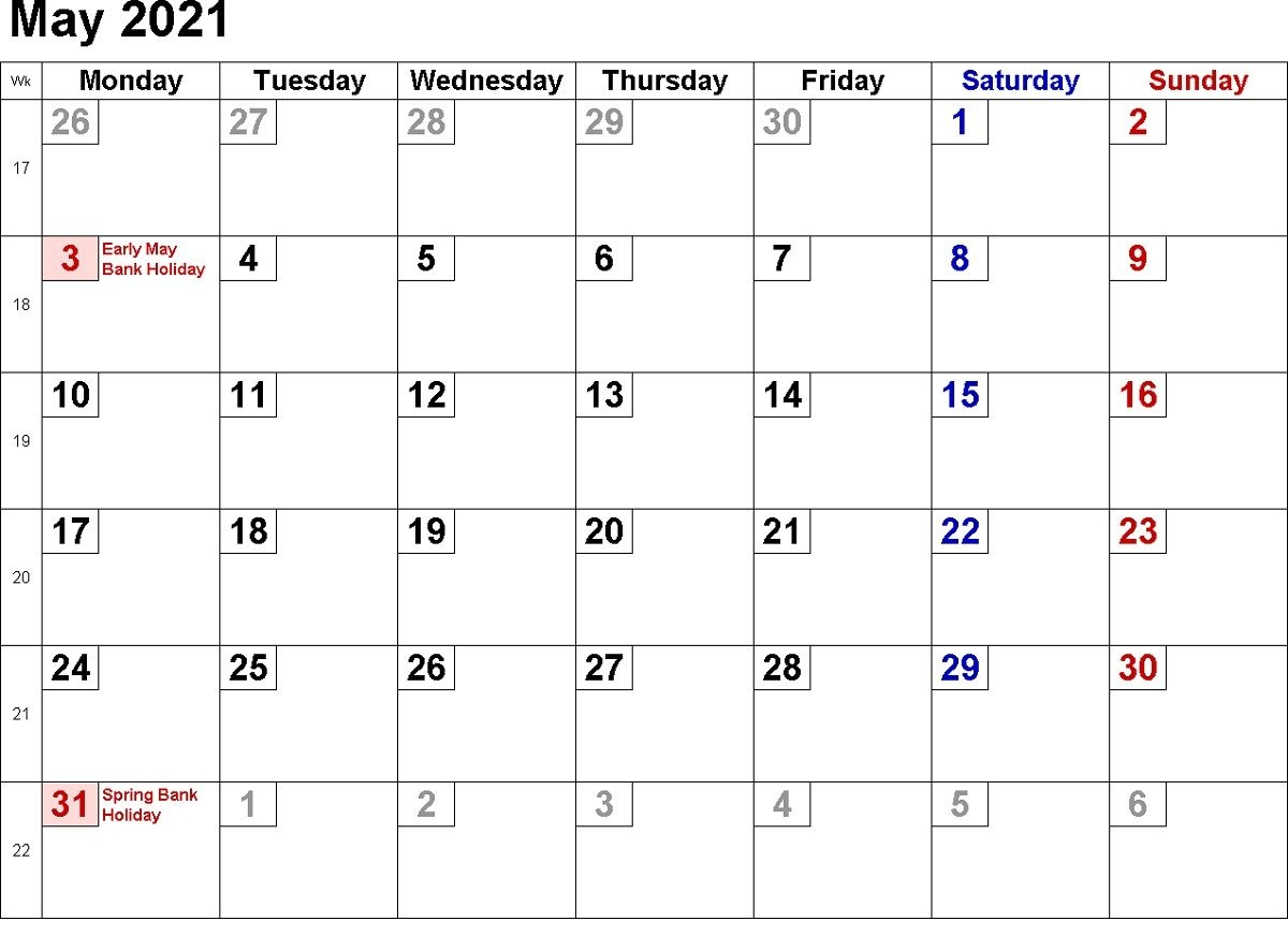 2021 Calendar With Week Numbers Free 365 Days | Calendar Shelter