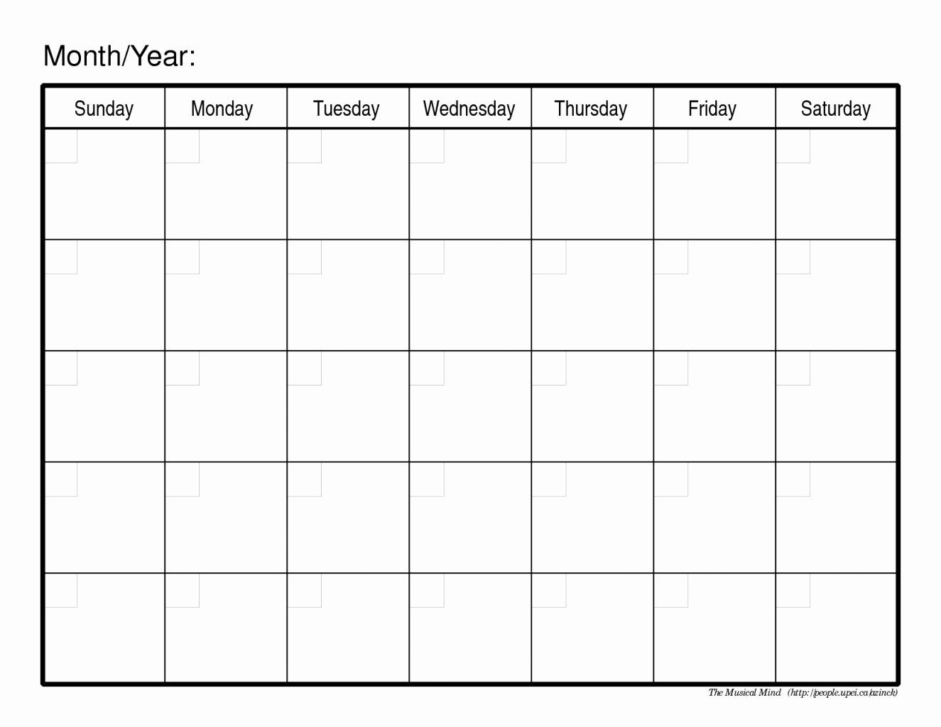 30 30 Day Calendar Template (With Images) | Blank Calendar