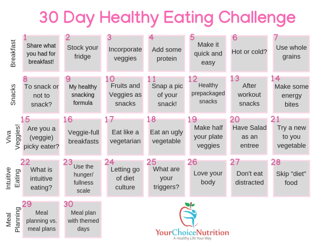 30 Day Diet And Exercise Plan - Bance