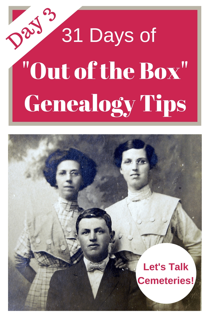"31 Days Of ""out Of The Box"" Genealogy Tips E-Book"
