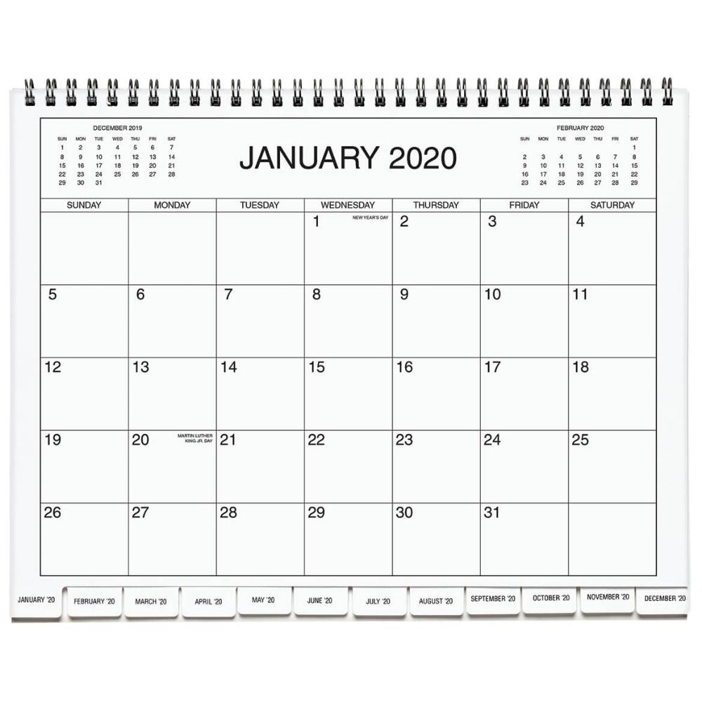 5 Year Calendar Diary 2020-2024 Blue - Five Year Calendar