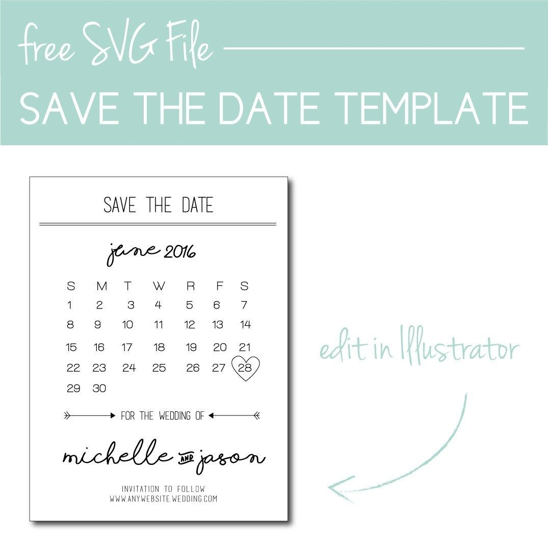 50 Amazing Calendar Save The Date Magnets For Every Wedding