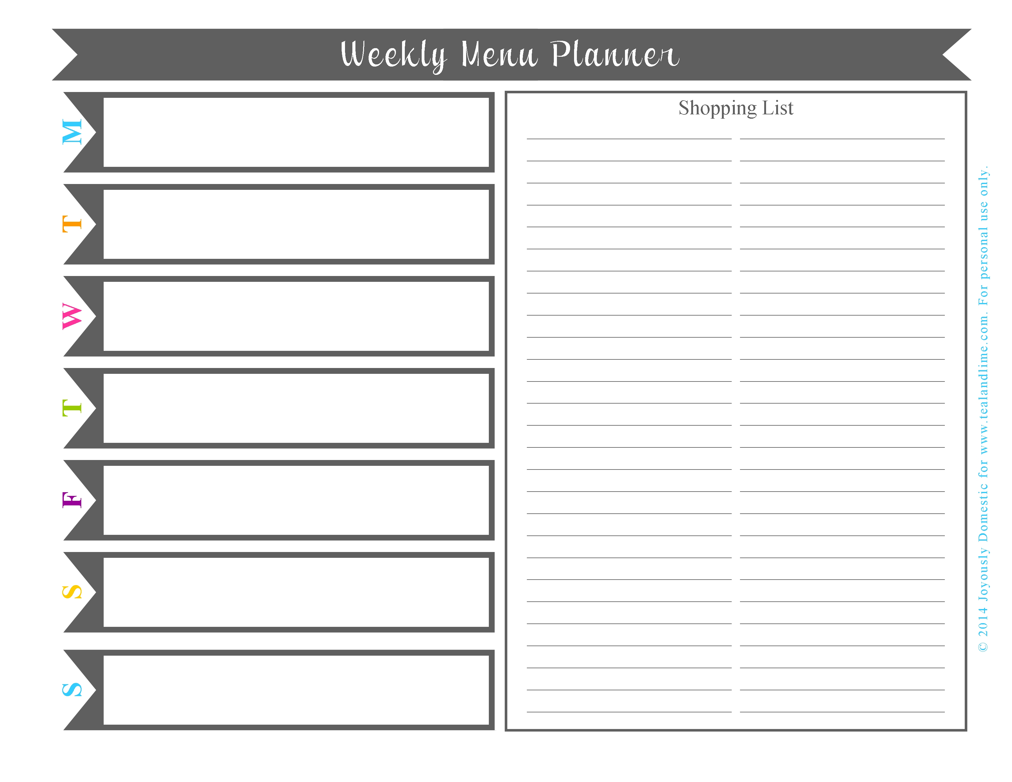 6 Best Images Of Printable Monthly Planner Templates - Free