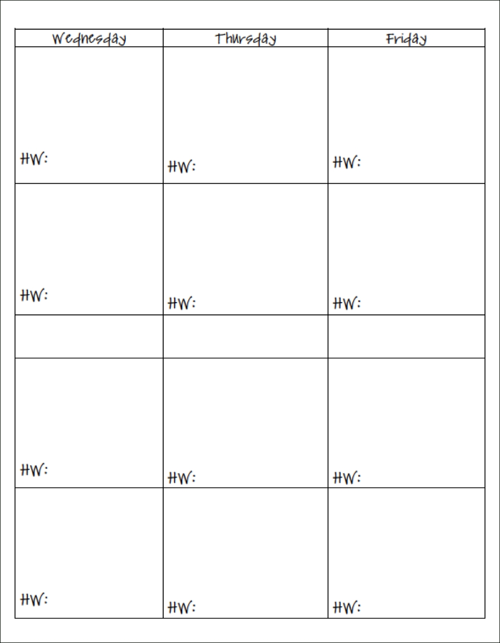 7 Best Images Of Free Printable Teaching Planners - Free