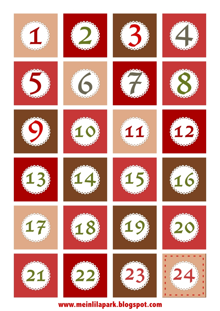 8 Best Images Of Christmas Numbers Printable - Free