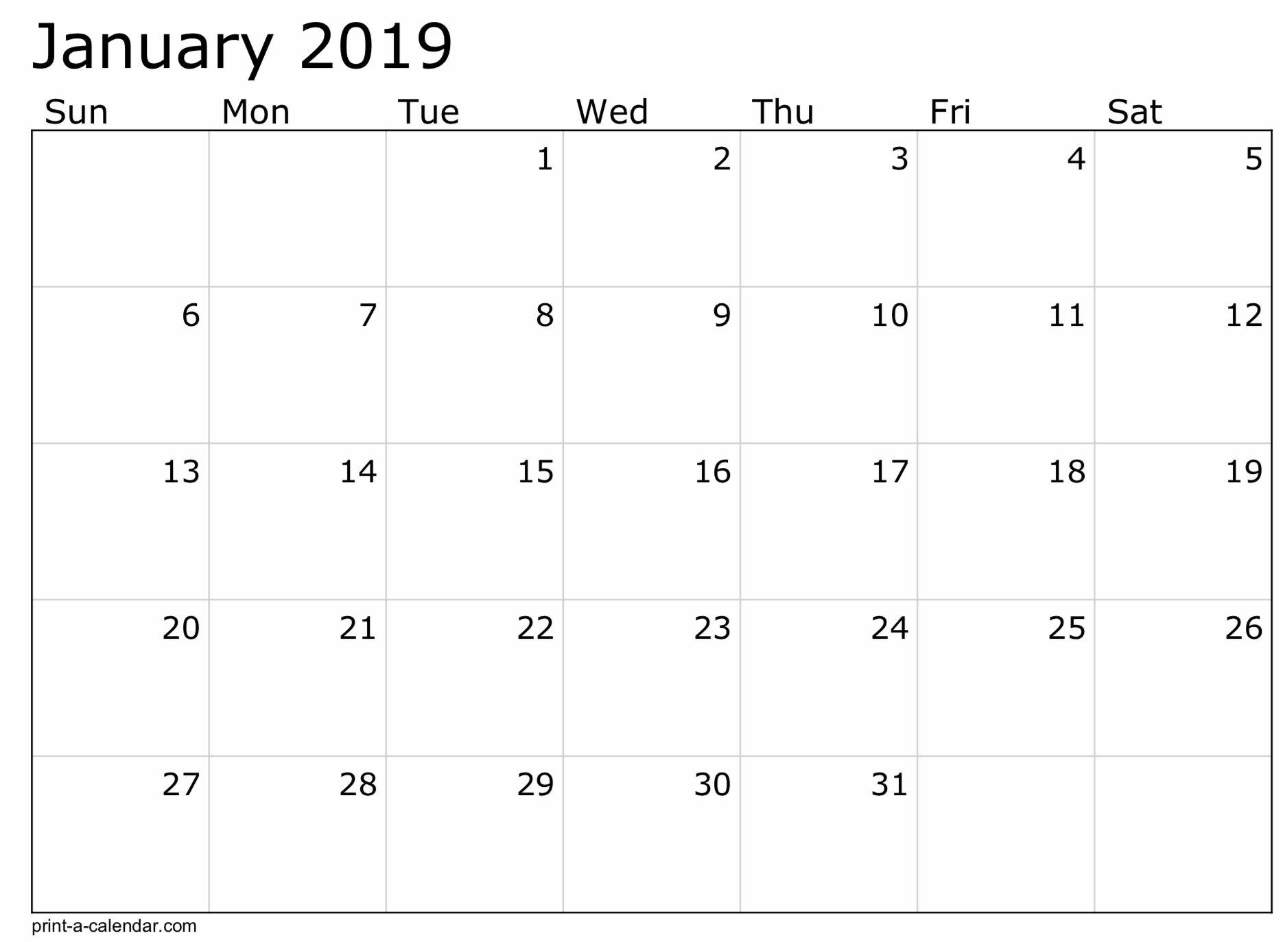 8 X 11 Calendar Template | Free Calendar Template Example