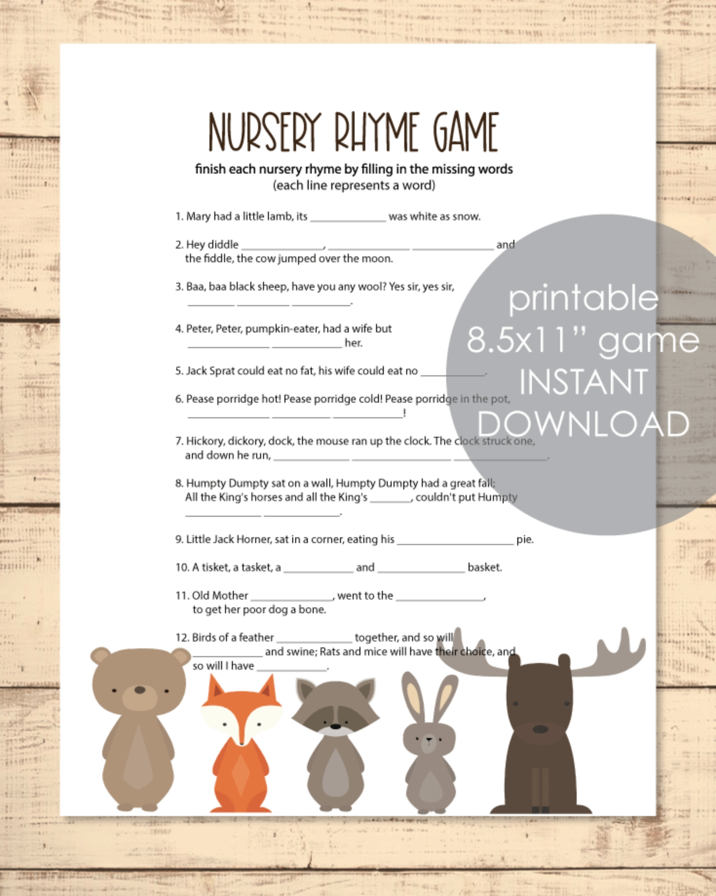 85+ Unique Baby Shower Game Ideas (That Are Actually Fun)