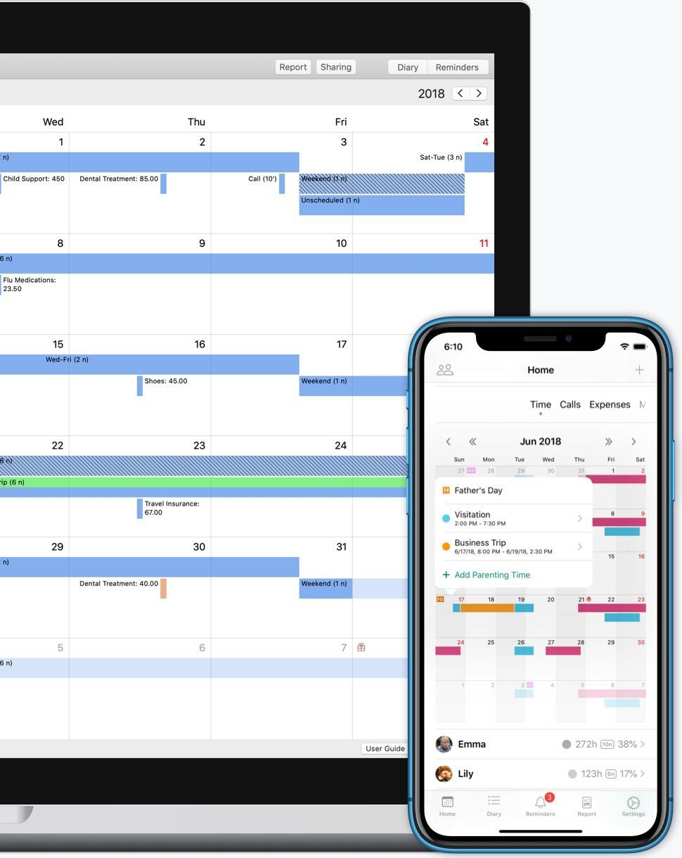Alimentor 2: Custody Calendar App For Iphone, Ipad And Mac