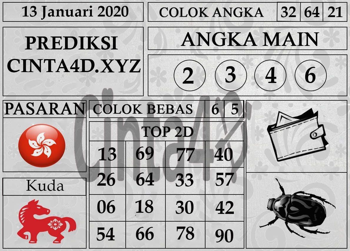 Angka Main : 2-3-4-6 Colok Bebas : 5-6 Shio : Naga Sikat