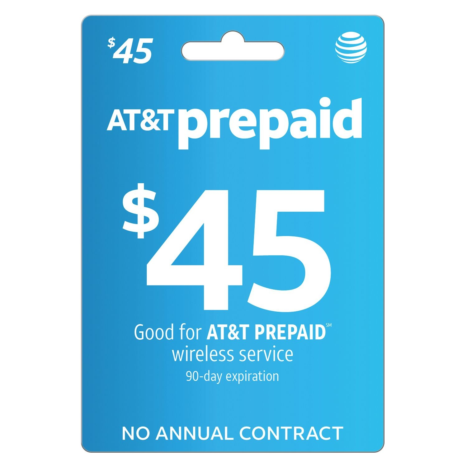 At&t Prepaid $45 E-Pin Top Up (Email Delivery) - Walmart
