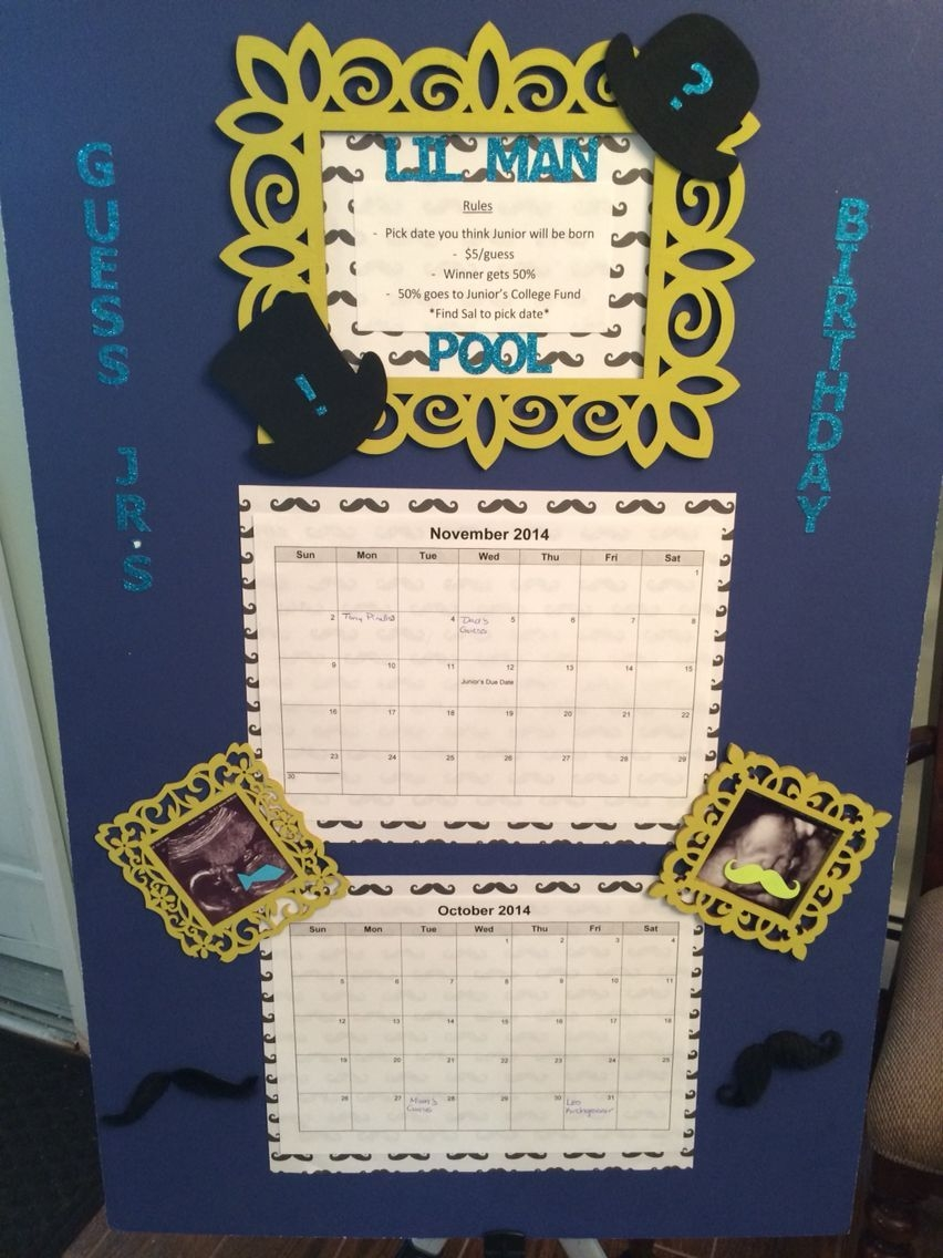 Baby Due Date Pool   Baby Due Date, Baby Shower Themes, Baby