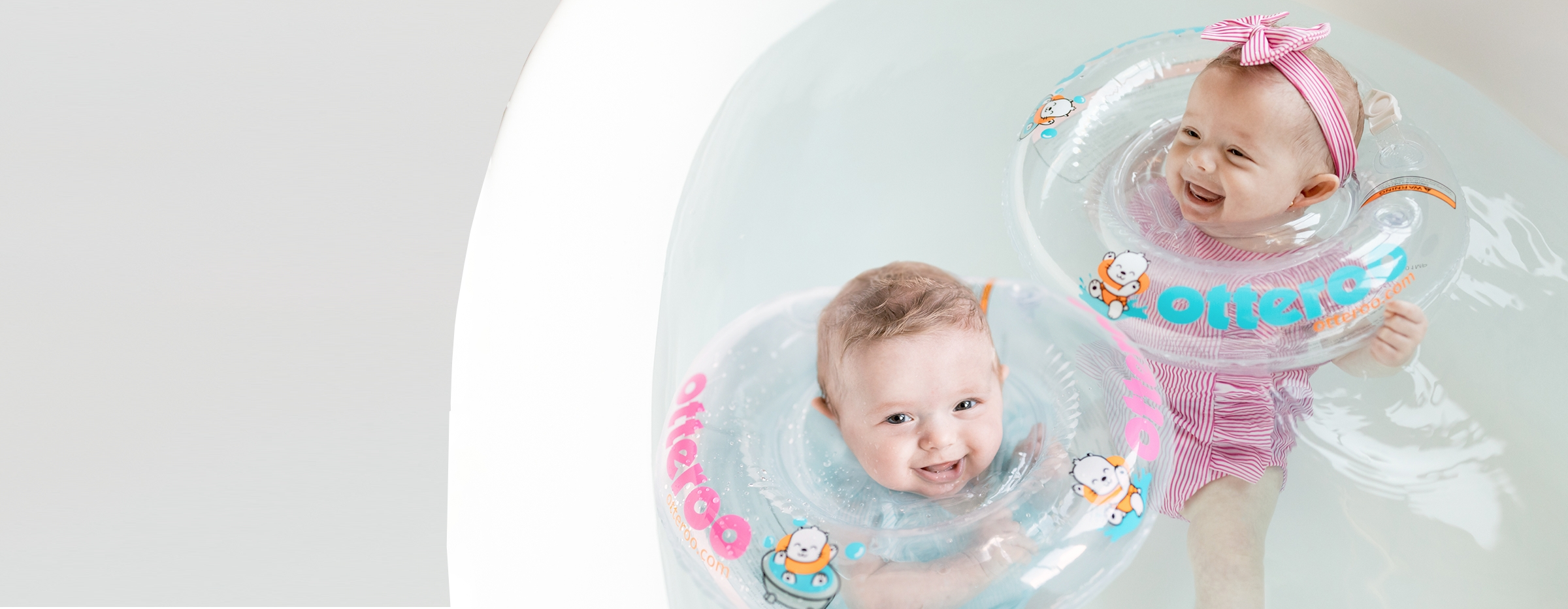 Baby Neck Float | Otteroo Bath And Pool Toy For Infants