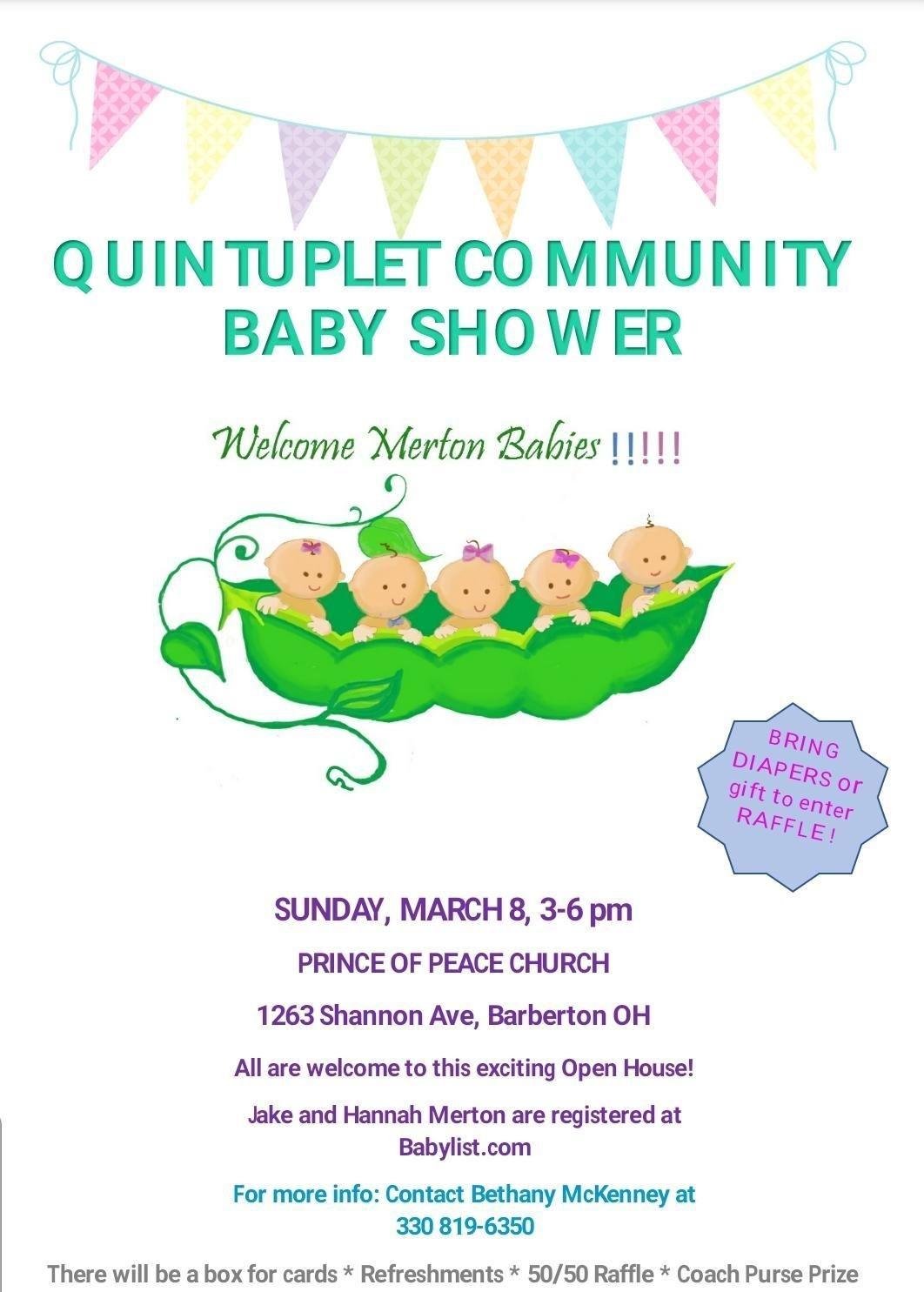 Barberton Community Prepares To Celebrate Coming Quintuplets