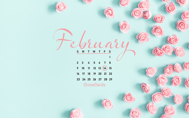 Beautiful February Desktop & Mobile Wallpaper - Free Backgrounds