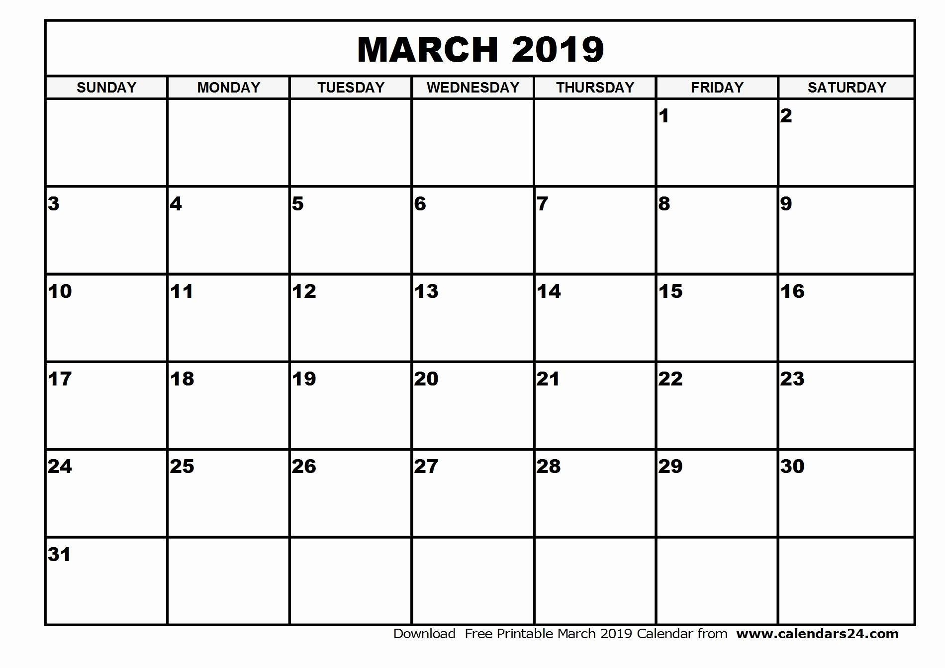 Blank Calendar With Lines | Calendar For Planning