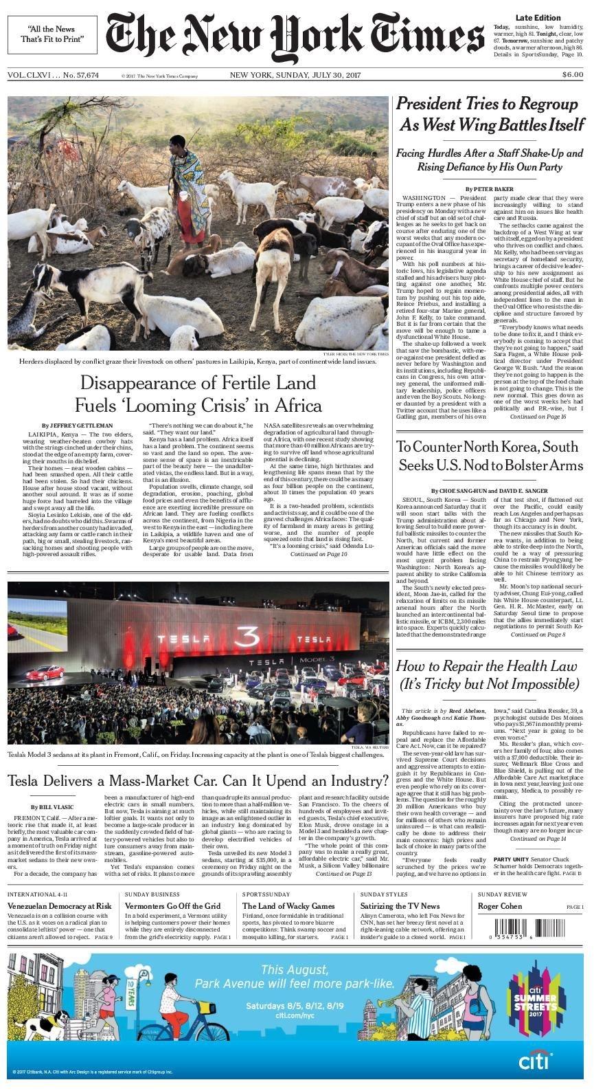 Calaméo - The New York Times 2017 07 30