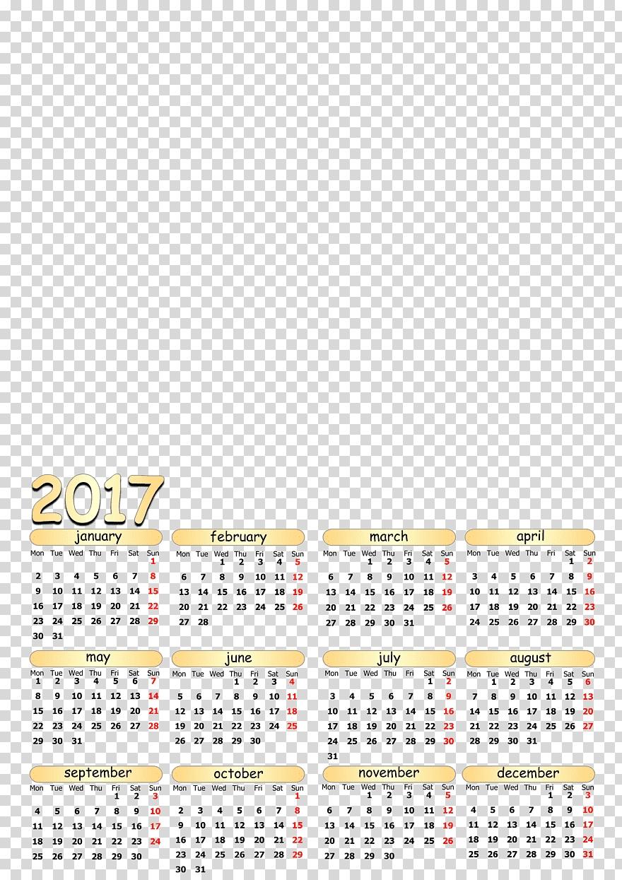 Calendar 0 Year Template 1, Calendar Template, Miscellaneous