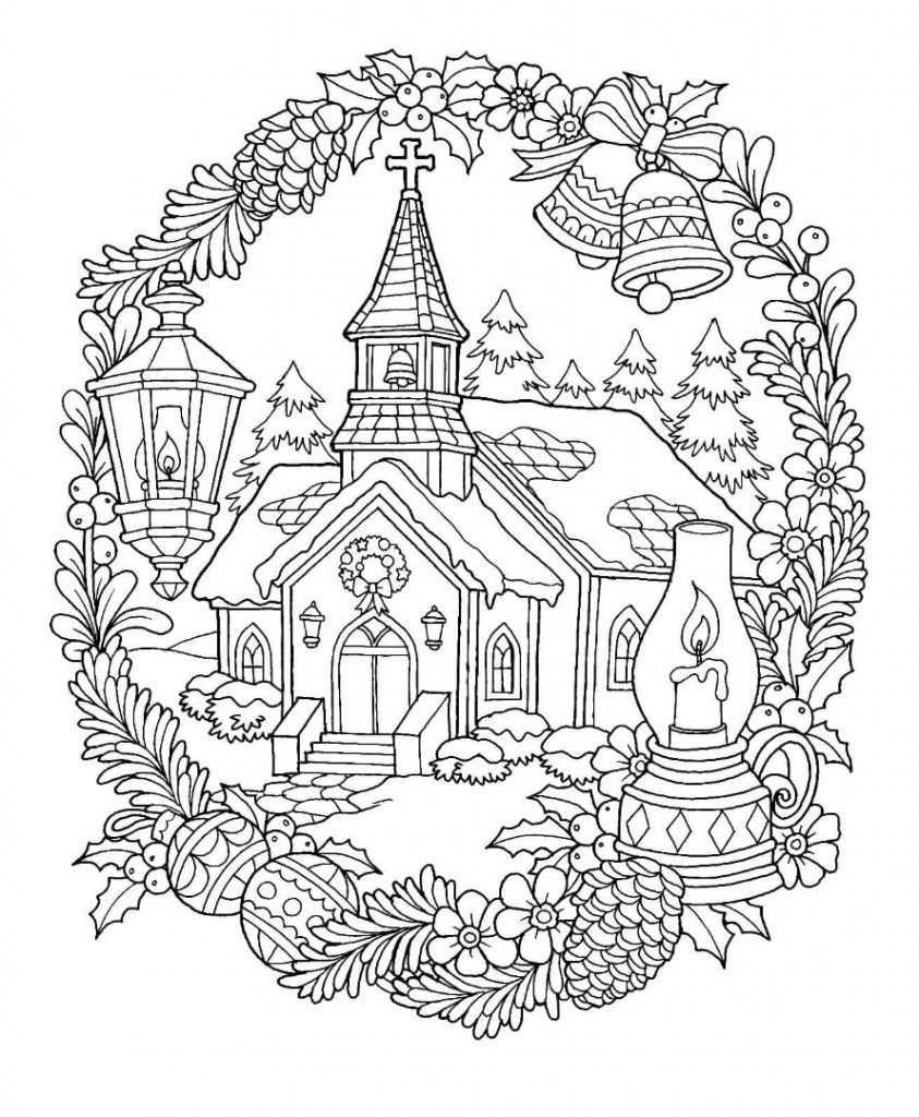 Church Coloring Pages – Coloring.rocks!