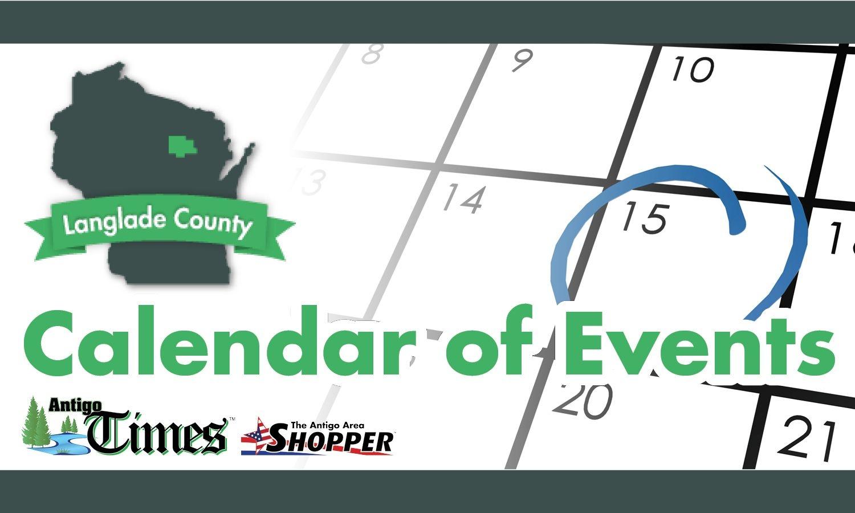 Community Calendar For 9/10/18 To 9/17/18 - Antigo Times