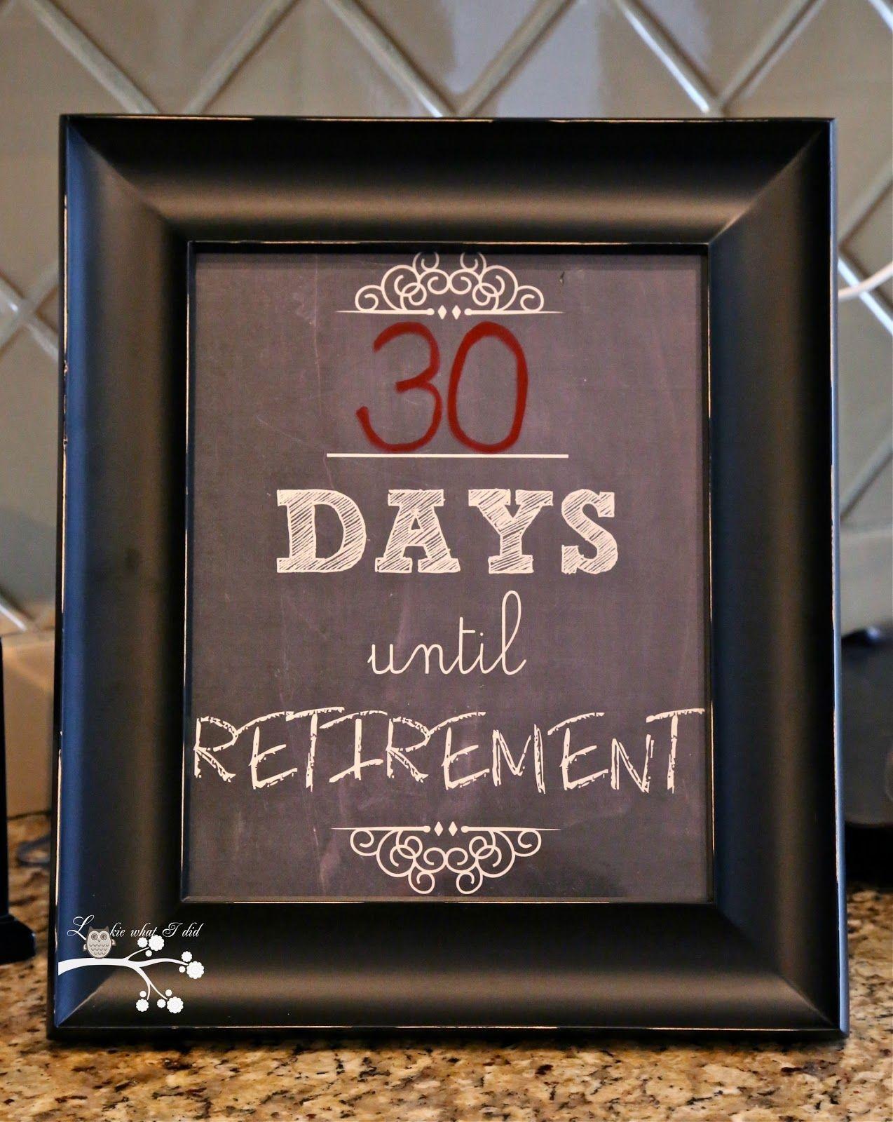 Countdown To Retirement | Retirement Countdown, Retirement