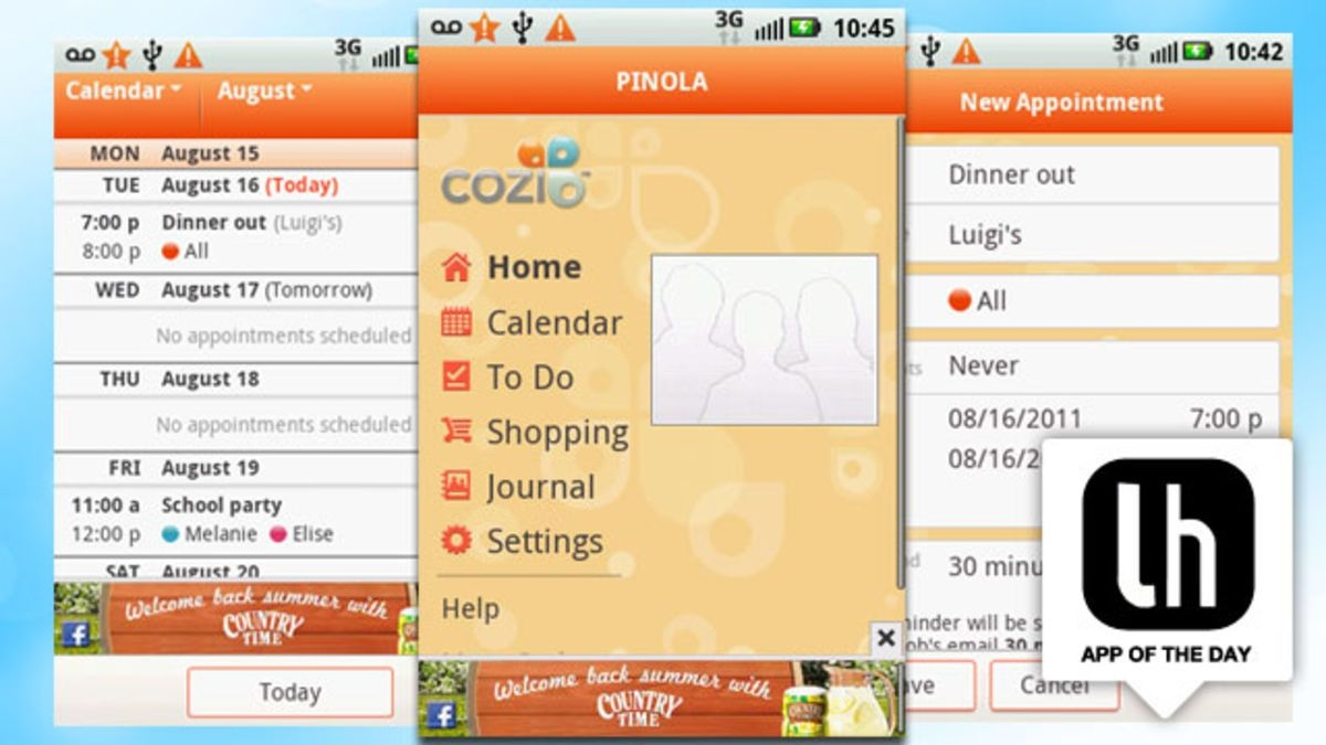 Cozi Family Organizer Keeps Your Family Life In Sync On The