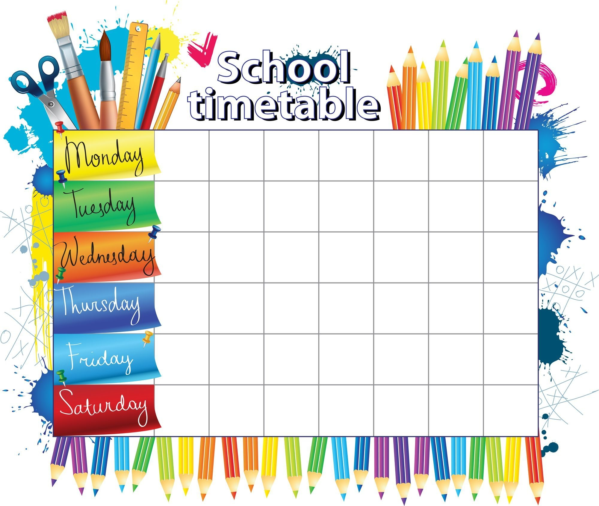Create A Back To School Daily Schedule You Will Love