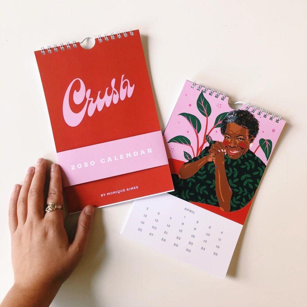 Crush Calendar — Monique Aimee
