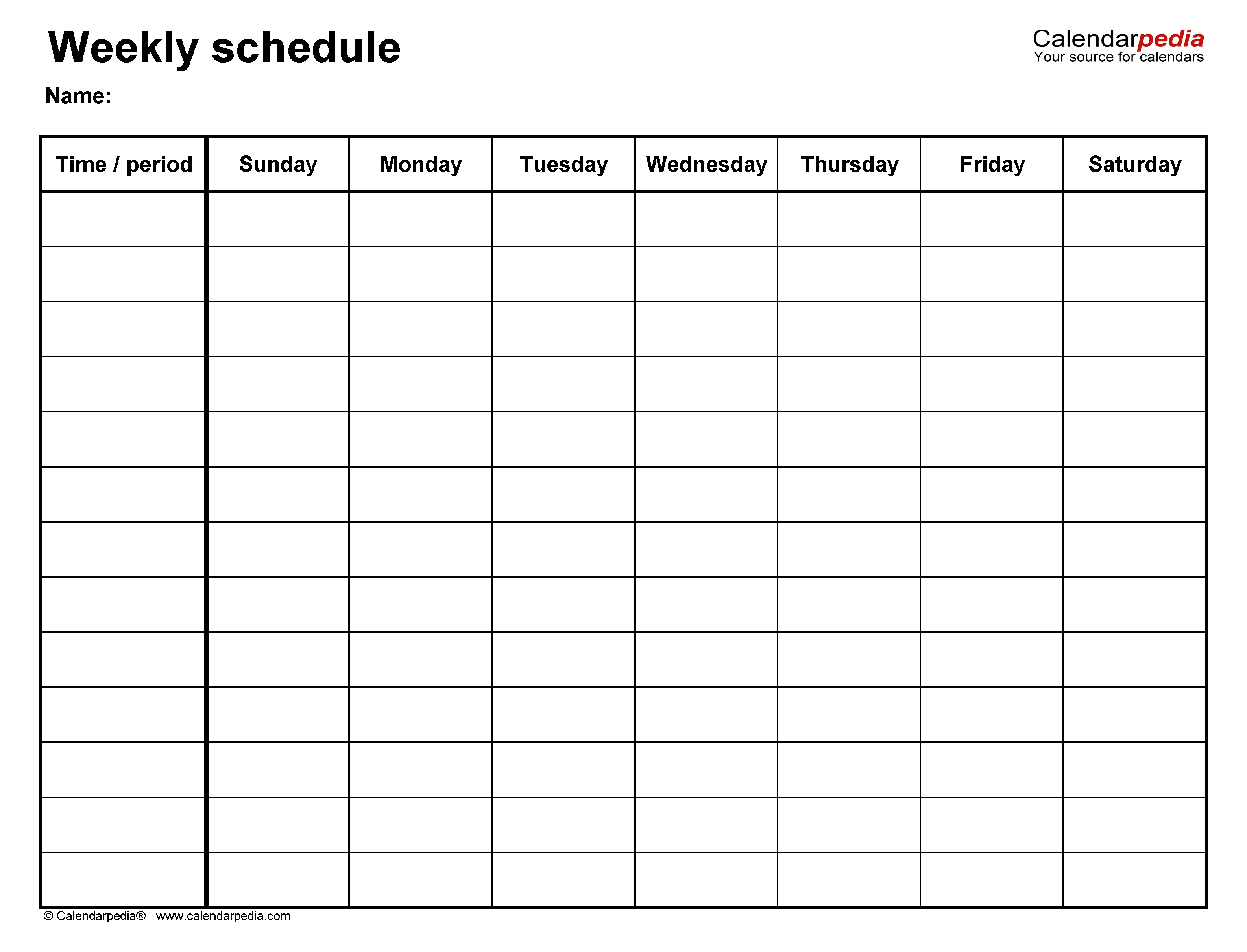 Daily Planner 15 Minute Increments Free