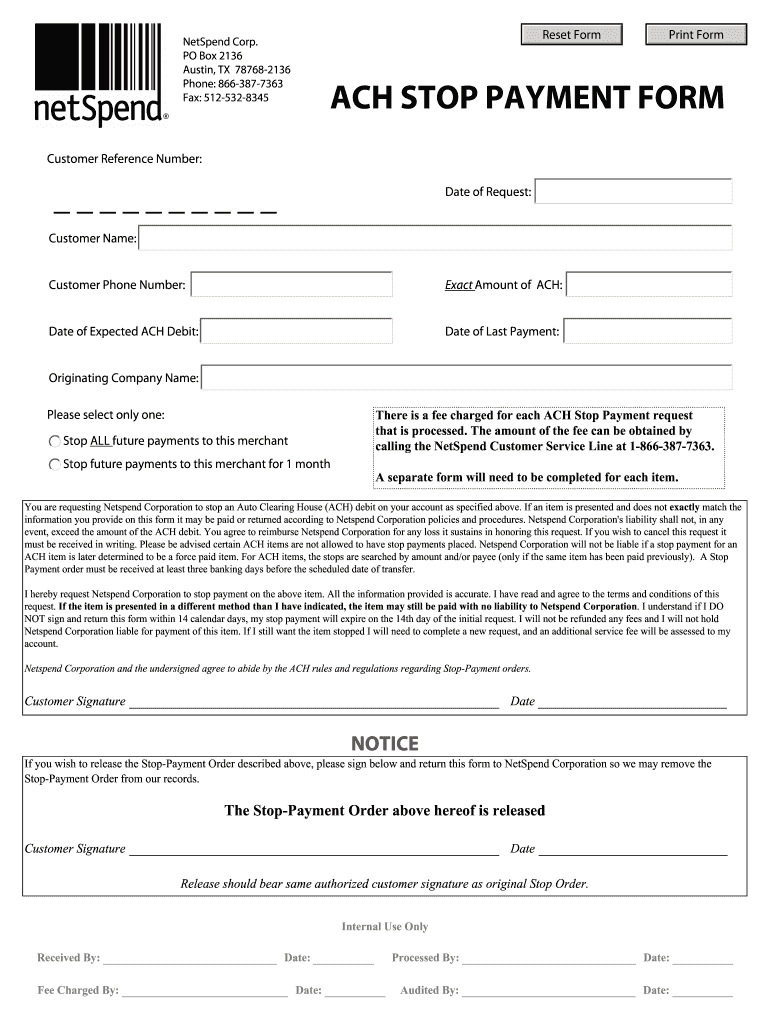 Documents Netspend - Fill Out And Sign Printable Pdf Template | Signnow