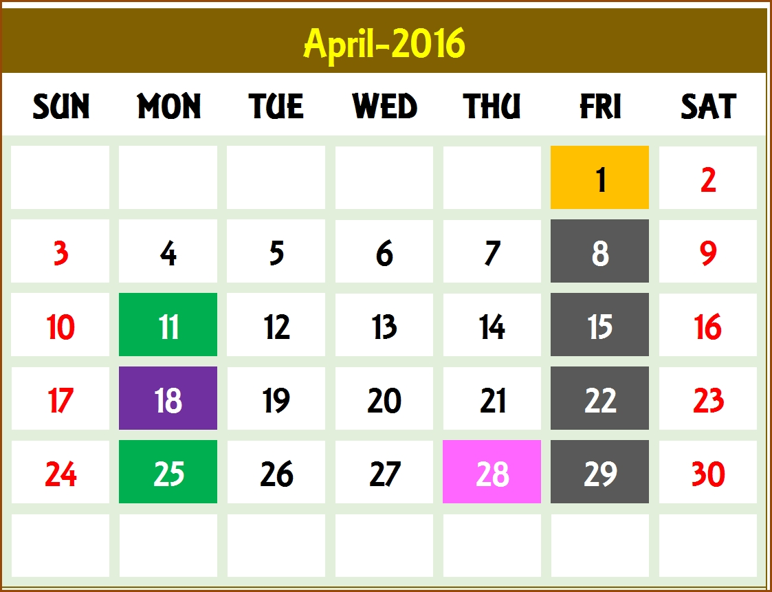 Event Calendar Maker Excel Template V3 - Support
