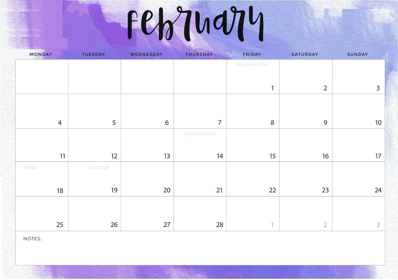 February 2019 Calendar Word (With Images) | Calendar
