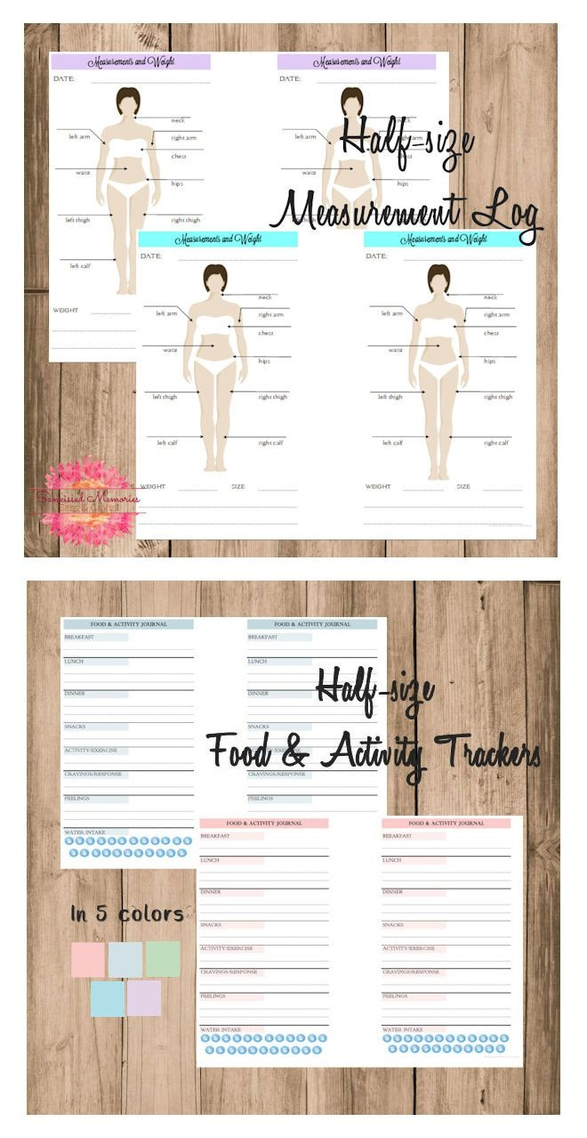 Fitness Planner Printables | Sunkissed Memories - Sass With