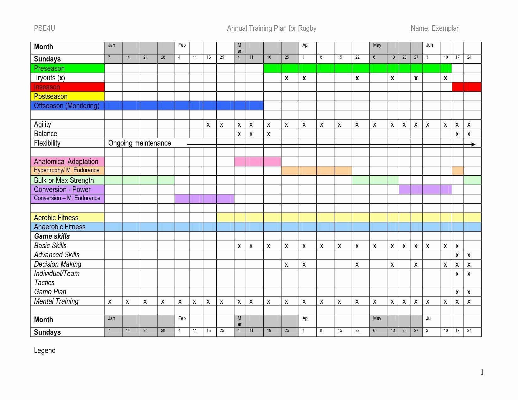 Football Practice Schedule Template Download Lovely Annual