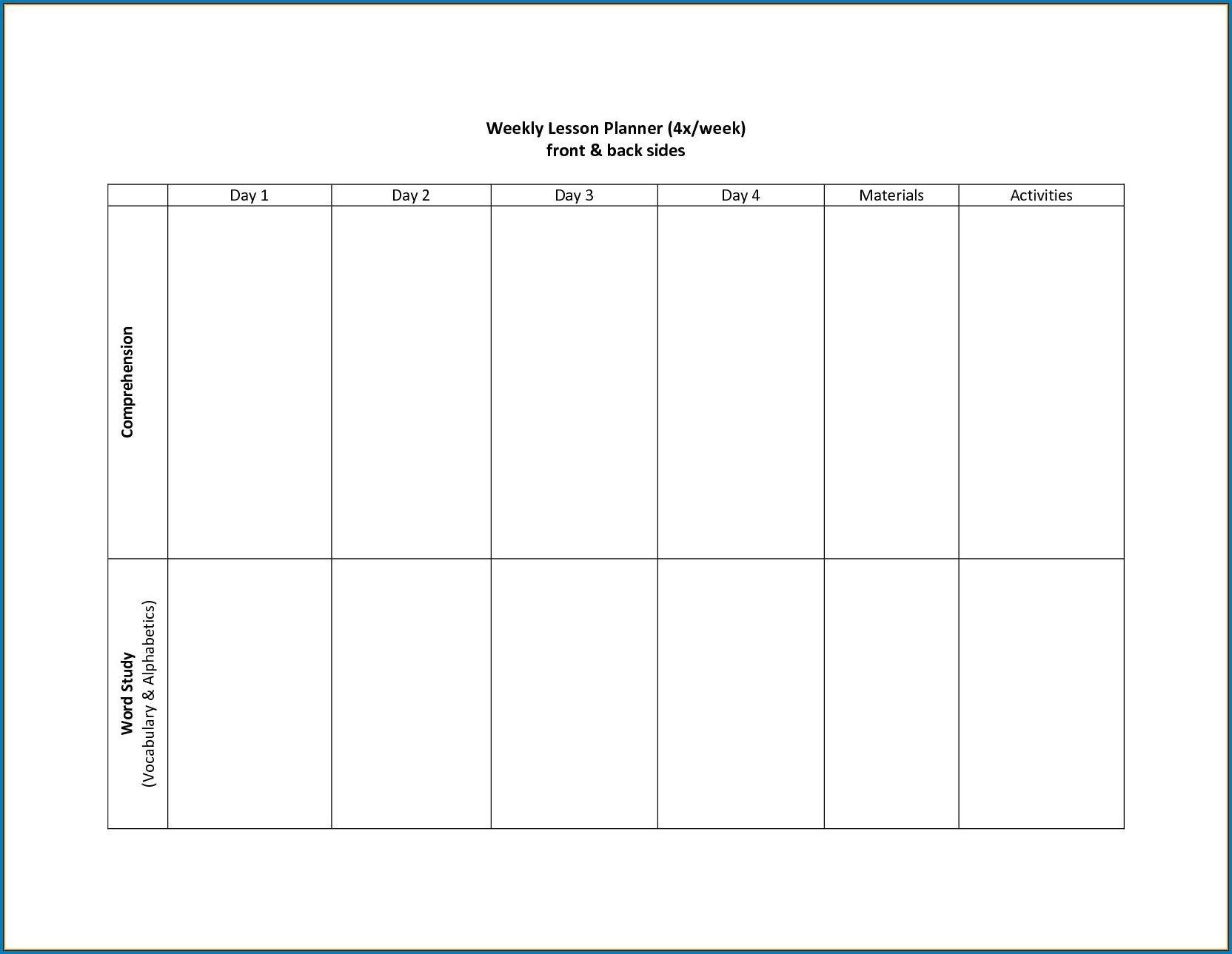 Free Printable 2 Week Calendar Template | Free Calendar