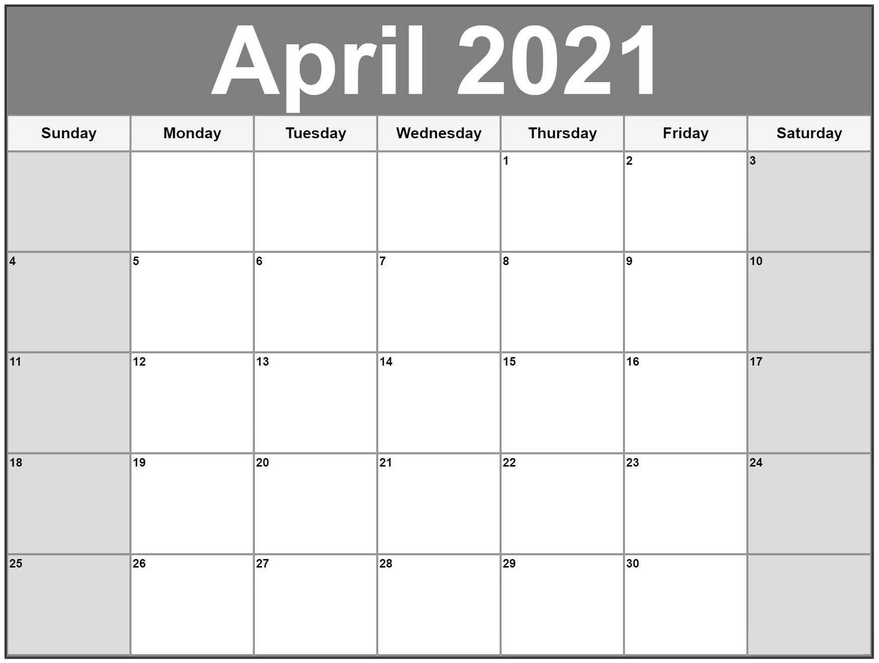 Free Printable 2021 Calendar Template 12 Months | Calendar