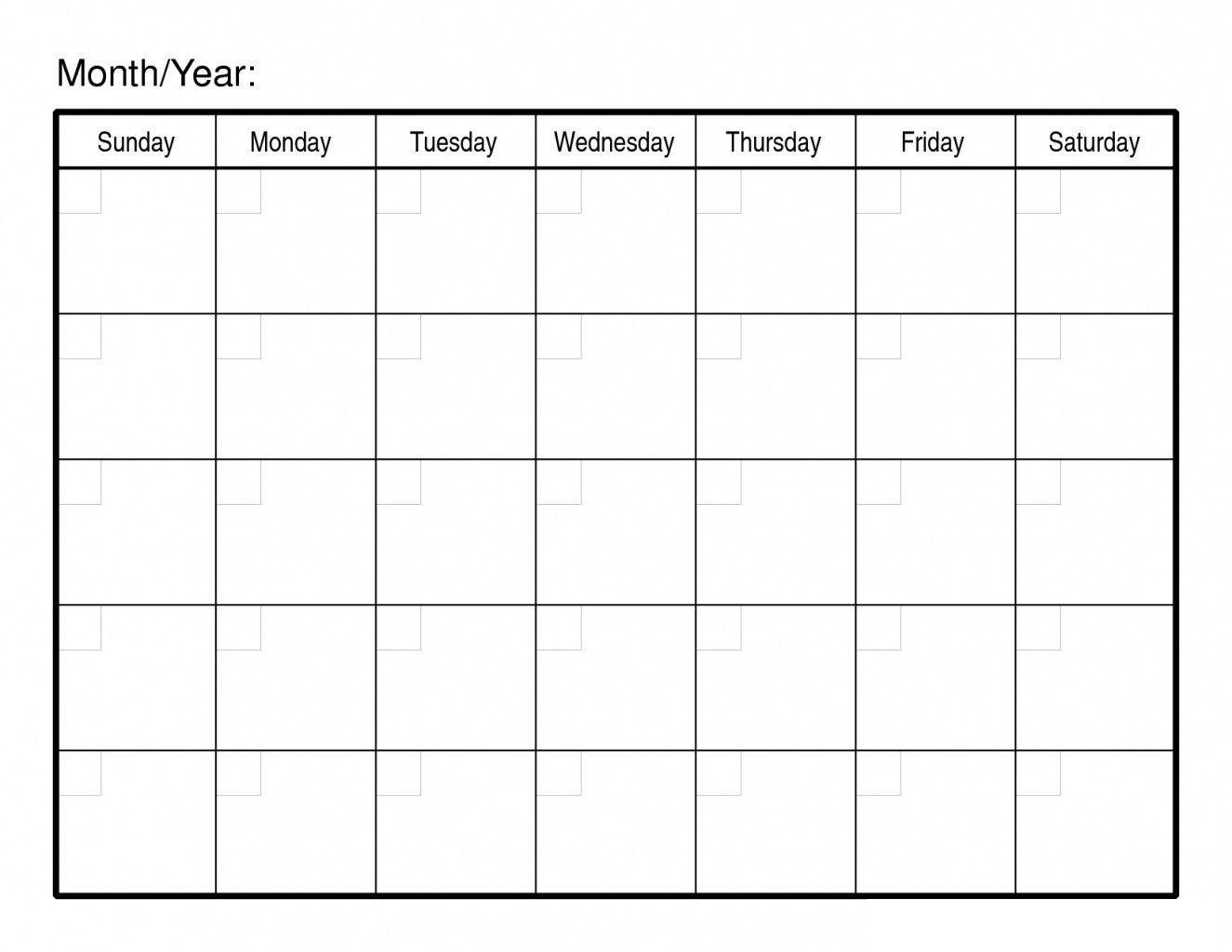Free Printable 30 Day Calendars - Calendar Inspiration Design