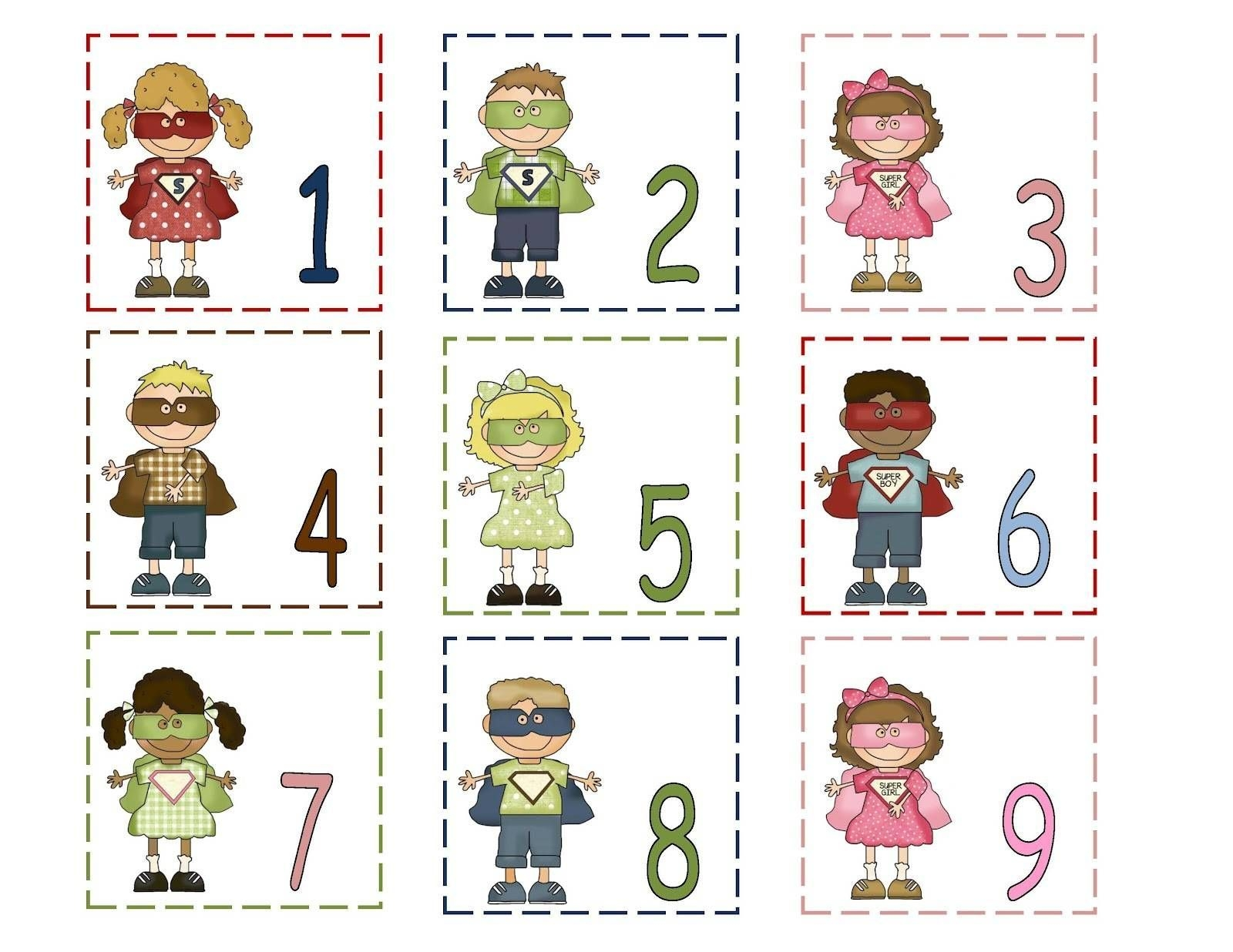 Free Printable Calendar Numbers 1-31 (With Images
