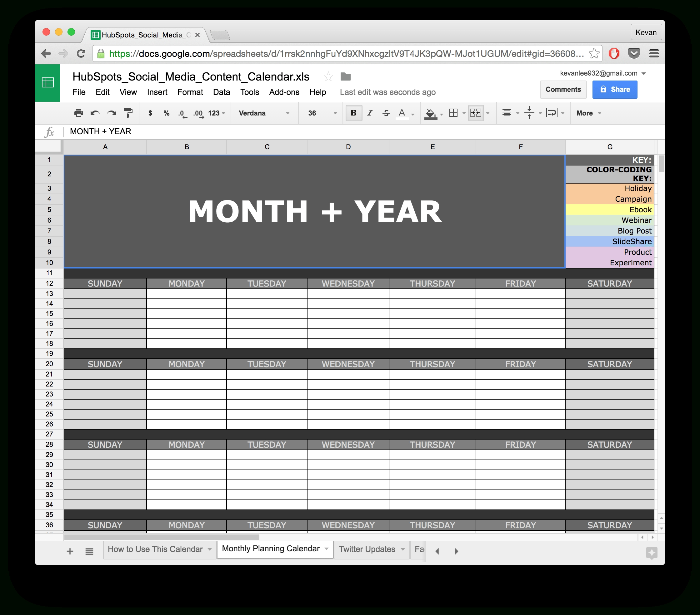 Google Docs Templates Budget Spreadsheet Calendar Download